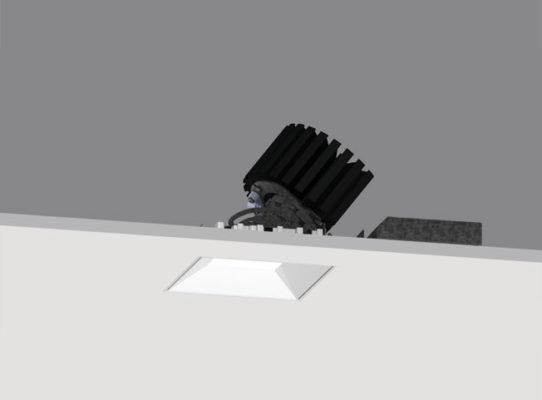 4″ ProTools DL Adjustable Square Regressed Cone Cover