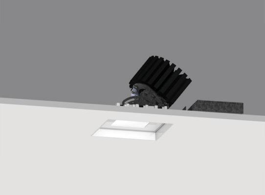 4″ ProTools DL Adjustable Square Regressed Pinhole Cover