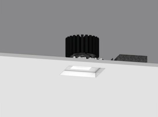 4″ ProTools DL Downlight Square Regressed Pinhole Cover