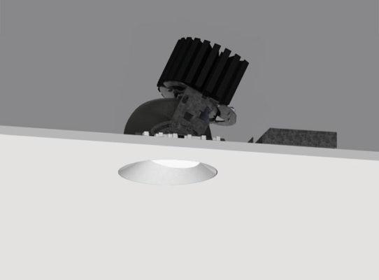 4″ ProTools DLX Downlight Round Asymmetric Cover – Adjustable / Narrow