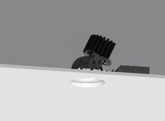 4″ ProTools DLX Downlight Round Regressed Pinhole Cover – Adjustable / Narrow