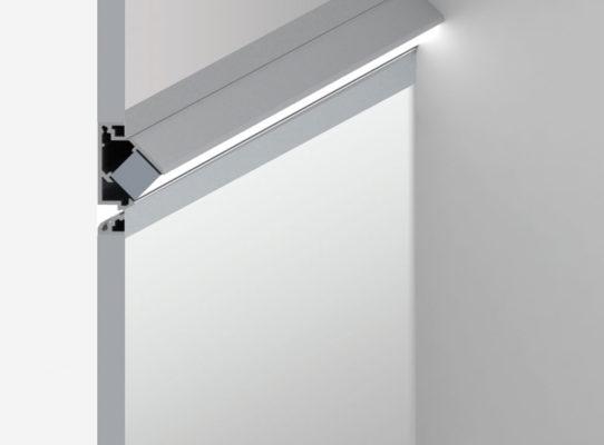 20 Linear Floor Wash Semi-Recessed Bezel Trim