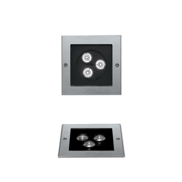 Ledplus  5 1/2| stainless steel frame square with screws
