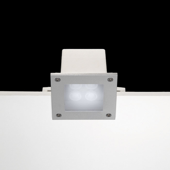 Ara Power LED / 125x125mm - Sandblasted Glass