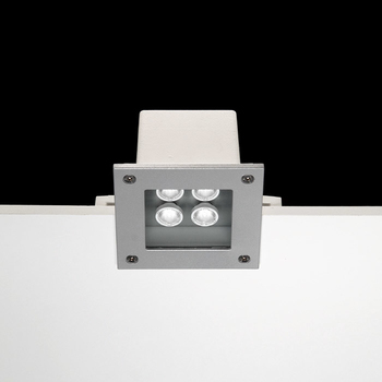Ara Power LED / 125x125mm - Transparent Glass - 15