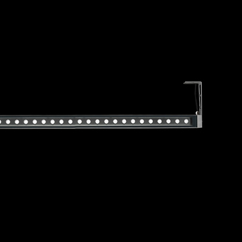 Arcadia1240 Power LED / With Brackets L 200mm - Transparent Glass - Adjustable - Medium Beam 40