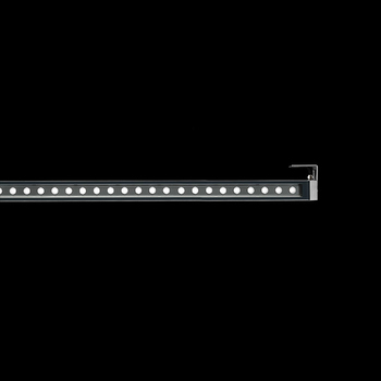 Arcadia1240 Power LED / With Brackets L 80mm - Transparent Glass - Adjustable - Narrow Beam 10