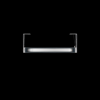 Arcadia640 / With Brackets L 200mm - Transparent Glass - Adjustable