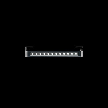 Arcadia640 Power LED / With Brackets L 80mm - Transparent Glass - Adjustable - Medium Beam 40