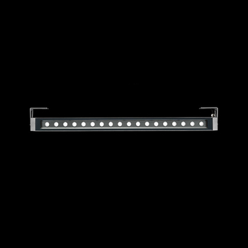 Arcadia940 Power LED / With Brackets L 80mm - Transparent Glass - Adjustable - Medium Beam 40