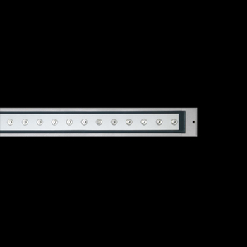 Cielo Power LED / L 1245 mm - Transparent Glass - Adjustable Optic - Narrow Beam 10