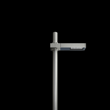 Dooku400 Power LED / Pole Ø 76mm - Single Top Pole - Wide Beam 120 (Wide Spaces - Public Areas - Parking Areas)