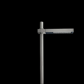 Dooku600 Power LED / Pole Ø 76mm - Single Top Pole - Wide Beam 120 (Wide Spaces - Public Areas - Parking Areas)