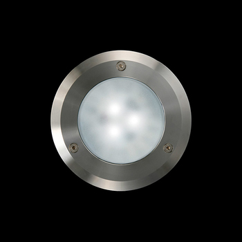 Idra Power LED / Ø 130mm - Sandblasted Glass - Symmetric Optic