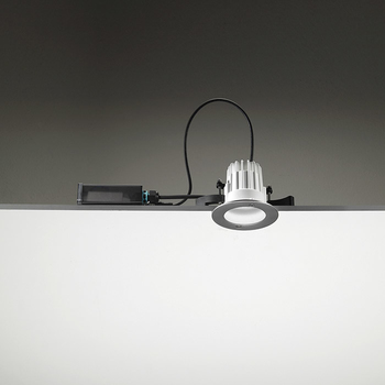 Leila105 CoB LED / Stainless Steel Frame - Wide Beam 45