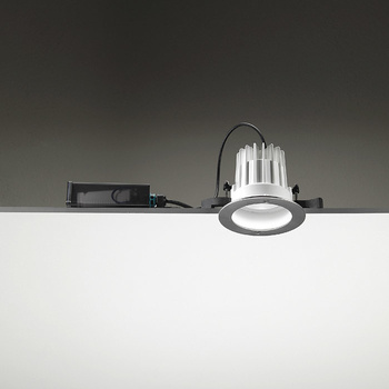 Leila135 CoB LED / Stainless Steel Frame - Wide Beam 40