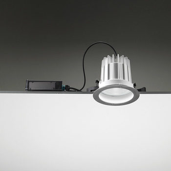 Leila165 CoB LED / Stainless Steel Frame - Wide Beam 45