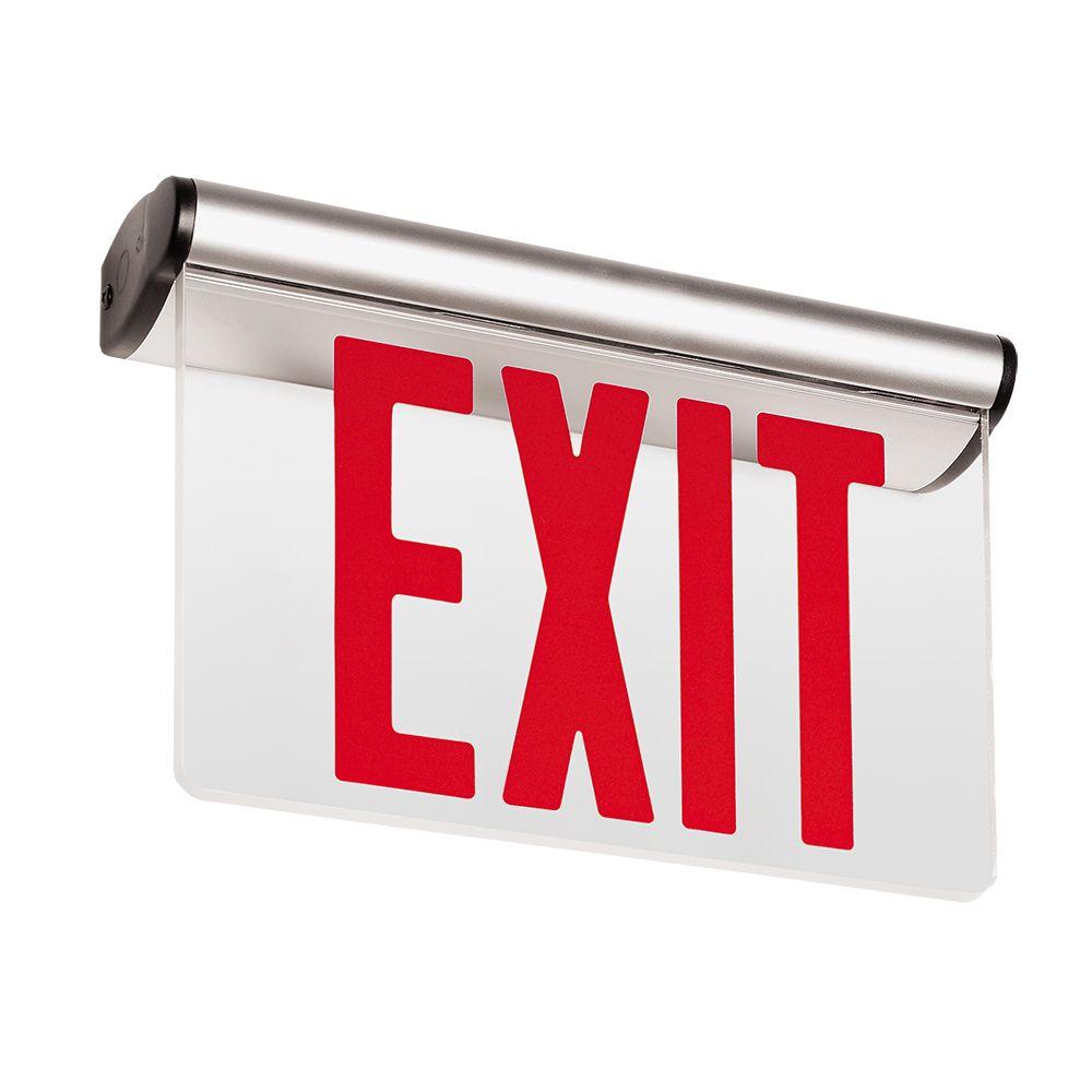 44R Series Edge-Lit NYC Exit
