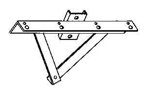 Pole Accessories - Wood Pole and Crossarm Brackets